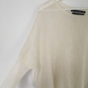 Zara dolman style kid mohair sweater